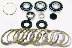2012 16 Jeep Nsg370 6 Speed Transmission Bearing Kit With Synchronizer Rings