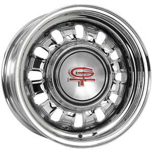 689ss158c 15x8 Ford Styled Steel 1968 69 Wheel 5x4 5 Bolt Pattern