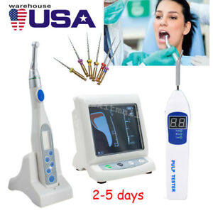 Dental Cordless Wireless Endo Motor color Apex Locator Root Canal Pulp Tester