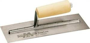 Orgl 6881056 marshalltown 12a Drywall Trowels Concave Wood Handle 14 X 4 1 2