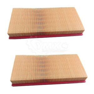 New Pair 2 Air Filter Elements For Land Rover Range Rover Sport Lr4 Set Of 2