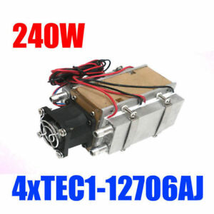 240w Semiconductor Refrigeration Diy Air Cooling Conditioner Water cooled Device