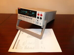 Keithley 2400 General Purpose Digital Sourcemeter 200v 1a 20w Calibrated