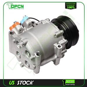 For 2002 2005 2003 2004 Honda Civic 1 7l A C Compressor W Cluth Co 4914ac