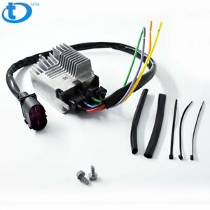 Engine Radiator Cooling Fan Control Unit Module For 2002 2009 Audi A4 A6 Quattro