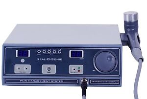 New Original Ultrasound Ultrasonic Therapy Machine For Pain Relief 1 Mhz Hos