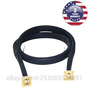 New Wr75 Flexible Waveguide 12 Inches Length Twistable Cover cover groove