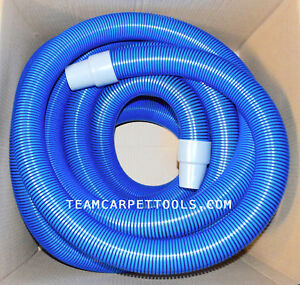 Carpet Cleaning 25 Ft Extractor Vacuum Hose 1 5 With 1 5 Wand Cuff Connectors