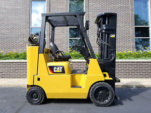 2012 Cat Caterpillar Gc40k 8000lb Cushion Forklift Lpg Lift Truck Hi Lo