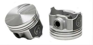 Speed Pro Ford 429 Super Cobra Jet Forged Flat Top Pistons Set 8 Moly Rings 030