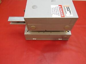 Sprecher Schuh Ct 3 12 Starter With Ol Relay Ct3k 12 And Ite F351 Disconnect