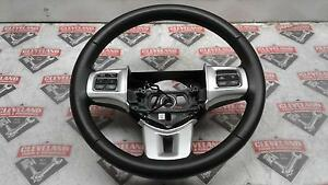 2011 Dodge Challenger Srt 8 Oem Steering Wheel 6 Speed Manual W Radio Controls