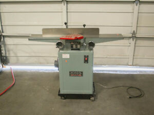 King Industrial Kc 60c 6 Wood Jointer