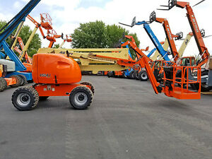 2006 Jlg 450aj Pneumatic 500lb Articulating Boom Lift 4x4 Diesel Man Lift