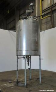 Used Befco Reactor 900 Gallon 304 Stainless Steel Vertical Approximate 60