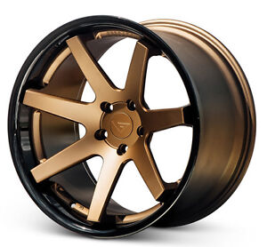 20 Ferrada Fr1 Matte Bronze Wheels Rims For Ford Mustang Eco V6 Gt Gt500 Boss