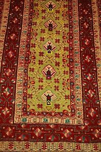 Circa 1920s Antique Shirvan Design Caucasian Rug 2 9x6 8 Vegetable Dye
