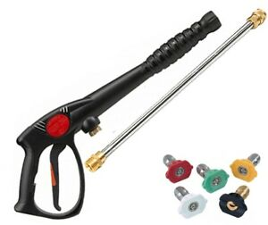 Spray Gun Wand Lance Tips Power Pressure Washer Water Pumps Up To 3200 Psi
