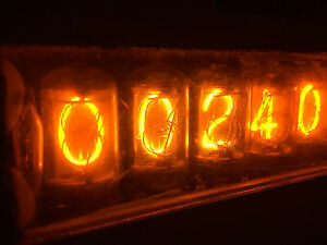 General Radio Gr 1191 b Counter Nixie Tubes