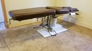Chiropractic Table Reduced Must Sell