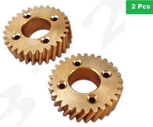 2 X Hobart Dough Mixer 55614 1 Brass Gear Commercial Heavy Duty Ae125 A200 A120