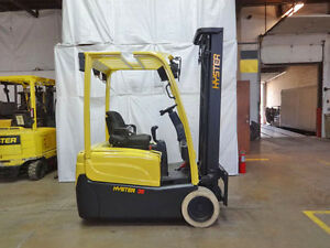 2010 Hyser J35xnt 3500lb Cushion Forklift Electric 48v Lift Truck