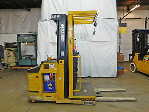 2006 Yale Os030 3000lb Order Picker 24v Battery Lift Truck Hi Lo 89 195