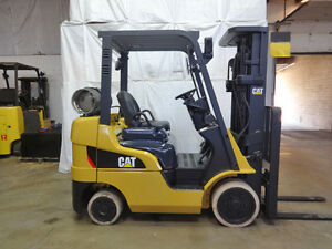 2010 Caterpillar Cat 2c5000 5000lb Smooth Cushion Forklift Lpg Fuel Lift Truck