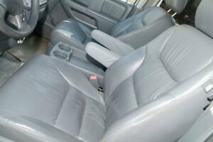 Honda Odyssey Synthetic Leather Vinyl Seat Armrest Covers Gray Fits 05 10