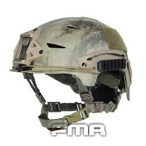 FMA Airsoft Paintball Tactical Protective ABS A-TACS Camo Fast Helmet