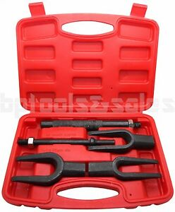 5pcs Tie Rod Ball Joint Pitman Arm Tool Kit Joint Remover Separator Pickle Fork