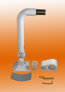 Dental Lcd Monitor Post Mounted Intraoral Camera Mount Metal Arm Us Ship Vip