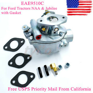 Eae9510c New Marvel Schebler Carburetor For Ford Tractors Naa Jubilee Gasket