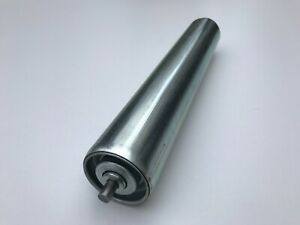 Conveyor Roller Rollers Steel Dia 50 Mm With Spring Axle For Gravity Conveyor