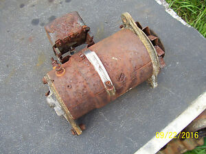 Vintage Oliver Super 88 Gas Tractor generator Pulley core Or Rebuild 1949