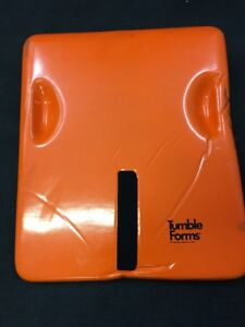 Tumble Forms Physical Therapy Positioning Wedge Orange Vinyl 28 x23 x4
