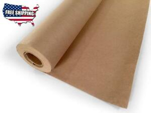 Paper Kraft Jumbo Roll Wrap Brown Craft Butcher Packing Mail 30 X 1200 100ft