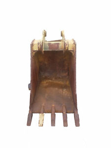Caterpillar M14441a Excavating Bucket 22 Cat Claw For 416b Backhoe