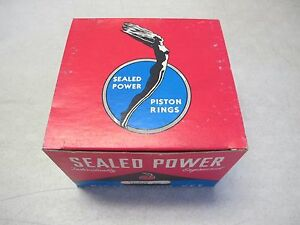 Sealed Power 10182kx 040 Piston Ring Set Fits Gmc 401 432 Engine