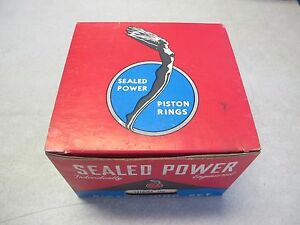 Sealed Power 10182kxstd Piston Ring Set Fits Gmc 401 432 Engine