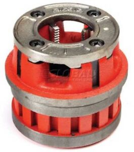 Ridgid 37105 Manual Threading pipe And Bolt Die Heads Complete W dies