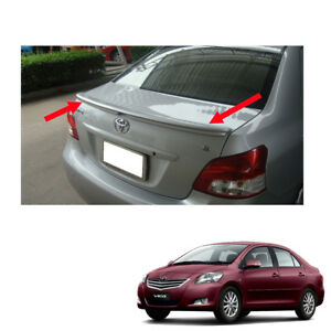 Rear Spoiler Trd Style Painted Fit Toyota Vios Yaris Sedan Belta 2007 2013