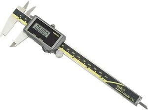 Mitutoyo 500 474 0 6 150mm Absolute Solar Digital Caliper W Certification