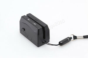 Usb Interface Portable Mini300 Magnetic Stripe Swipe Card Reader Collector