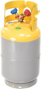 Mastercool 62010 30 Lb D o t Refrigerant Recovery Tank Without Float Switch