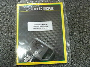 John Deere Models H160 H165 Front End Loaders Owner Operator Manual Omw57694