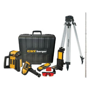 Cst berger Rl50hvck Self Leveling Rotary Laser Level Kit