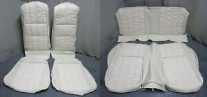 1971 Mustang Fastback Deluxe Upholstery Set Reproduction Bucket Seat White
