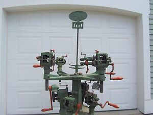 Peck Stow Wilcox Pexto No 969 Tool Holder Stand With 9 Tools Christmas Tree