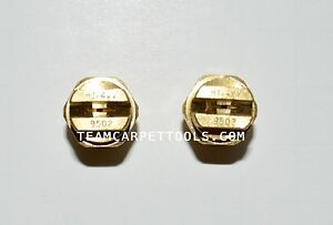 Carpet Cleaning Wand Replacement Brass 1 4 V jets 9502 Vee Jets 2 Count